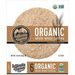 La Tortilla Factory, Organic Whole Wheat Tortillas | Bag of 6 (216g)