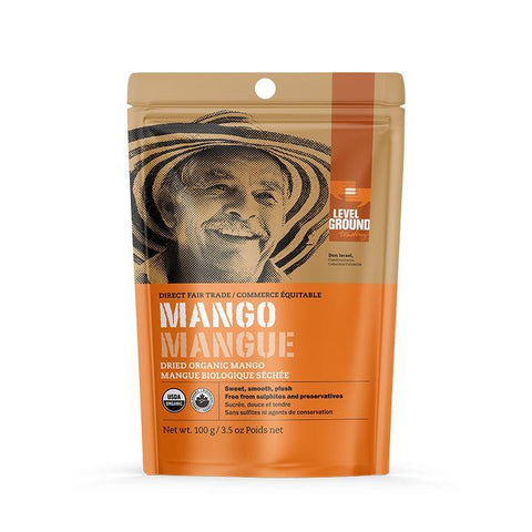 Level Ground, Dried Organic Mango (100g)