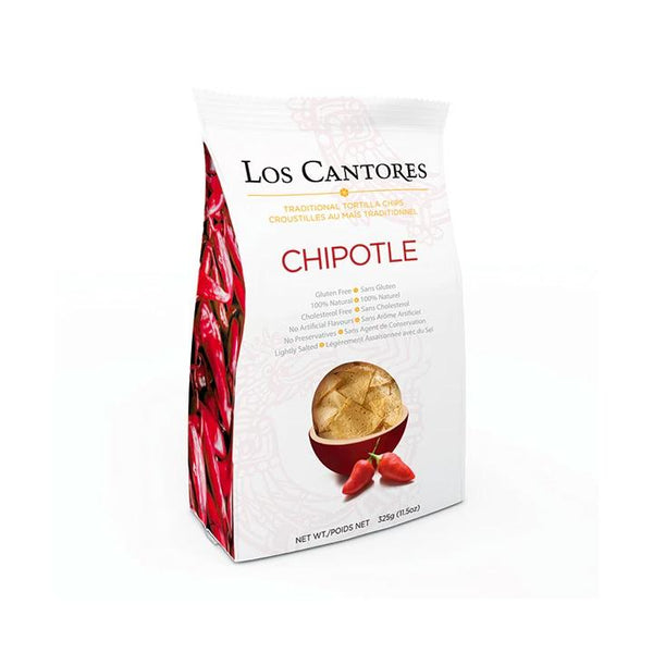 Los Cantores, Chipotle Tortilla Chips (325g)