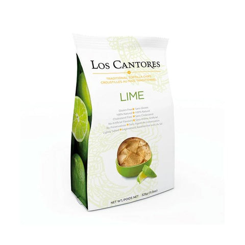 Los Cantores, Lime Tortilla Chips (325g)