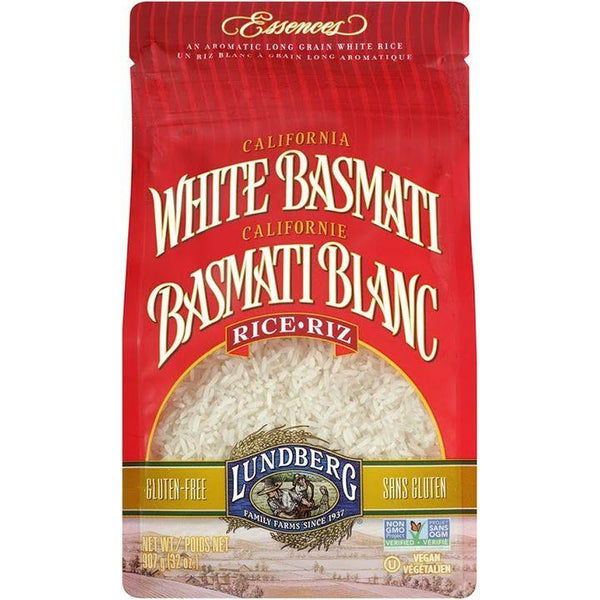 Lundberg Family Farms, California White Basmati Rice (907g)