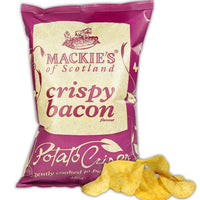 Mackie's of Scotland, Crispy Bacon Crisps/Potato Chips (150g)