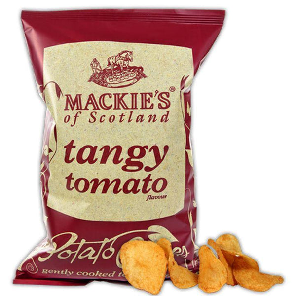 Mackie's of Scotland, Tangy Tomato Crisps/Potato Chips (150g)