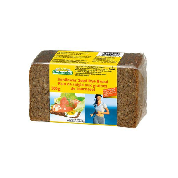 Mestemacher, Organic Sunflower Seed Rye Bread (500g)