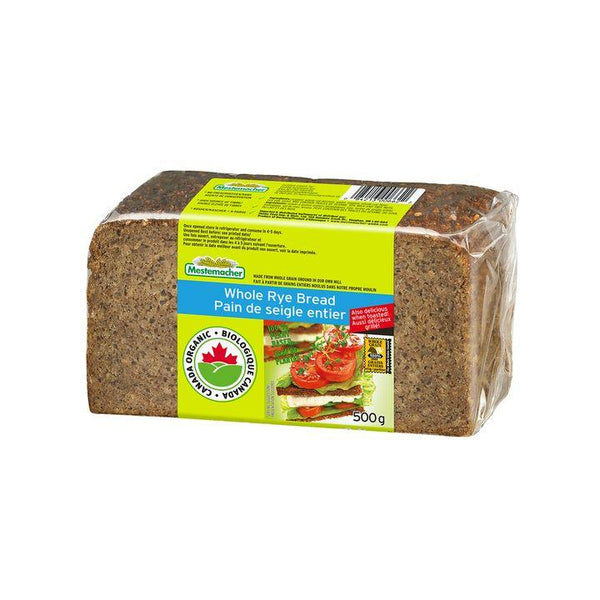 Mestemacher, Organic Whole Rye Bread (500g)