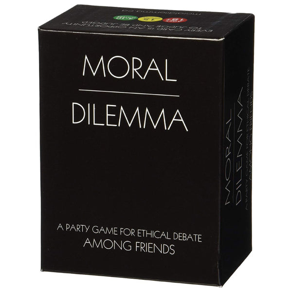 Moral Dilemma - A Card Game for Ethical Debate Among Friends.