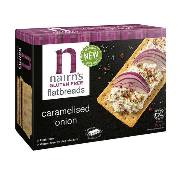 Nairn's, GF Caramelized Onion Flatbreads (150g)