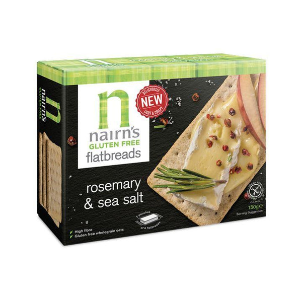 Nairn's, GF Rosemary & Sea Salt Flatbreads (150g)