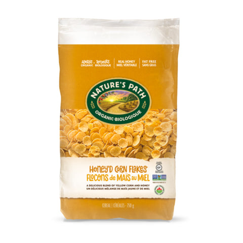Nature's Path, Honey'd Corn Flakes (750g)