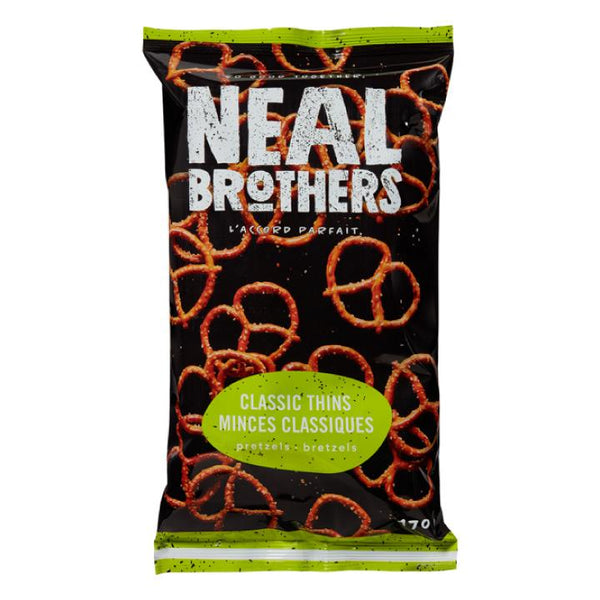 Neal Brothers, Classic Thins Pretzels (170g)