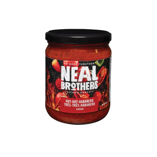 Neal Brothers, Hot-Hot-Habanero Salsa (410mL)