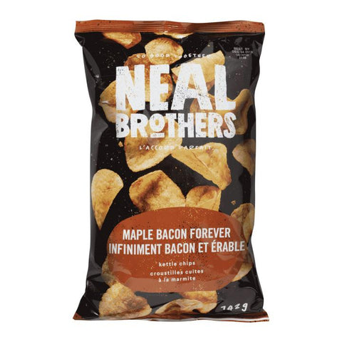 Neal Brothers, Maple Bacon Forever Kettle Potato Chips (142g)
