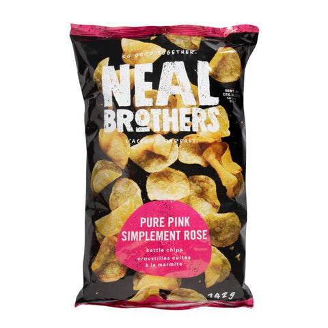 Neal Brothers, Pure Pink Kettle Potato Chips (142g)