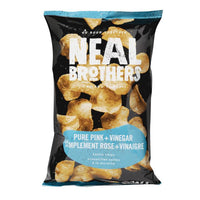 Neal Brothers, Pure Pink + Vinegar Kettle Potato Chips (142g)