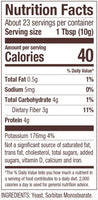 Nutrition Facts: Bob's Red Mill, Active Dry Yeast (227g)