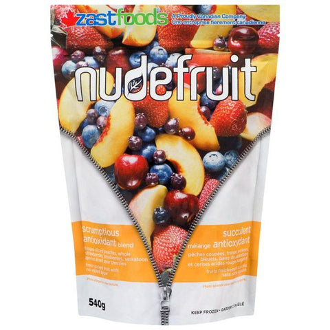 Nudefruit, Scrumptious Antioxidant Frozen Fruit Blend (540g)