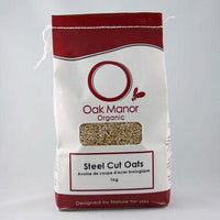 Oak Manor Farms, Organic Steel Cut Oats (1kg)