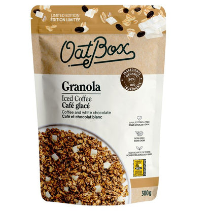 OatBox, Iced Coffee Granola (300g)
