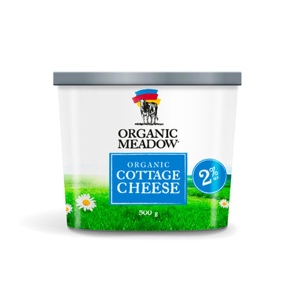 Organic Meadow, 2% Cottage Cheese (500g)