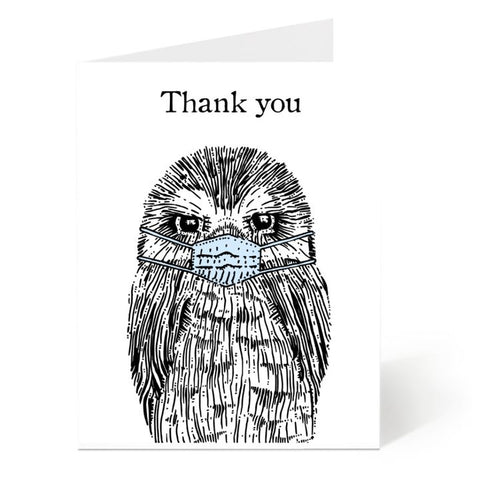 Ostockley, Thank You Frontline Workers Greeting Card (Qty 1)