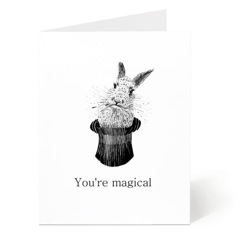 Ostockley, You're Magical Greeting Card (Qty 1)