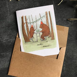 Paper Canoe, Better with You Greeting Card (Qty 1)