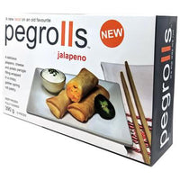 Pegrolls, Jalapeno Perogie/Spring Roll Pastry (390g)