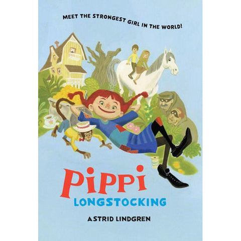 Pippi Longstocking by A. Lindgren (HC, pp. 144)