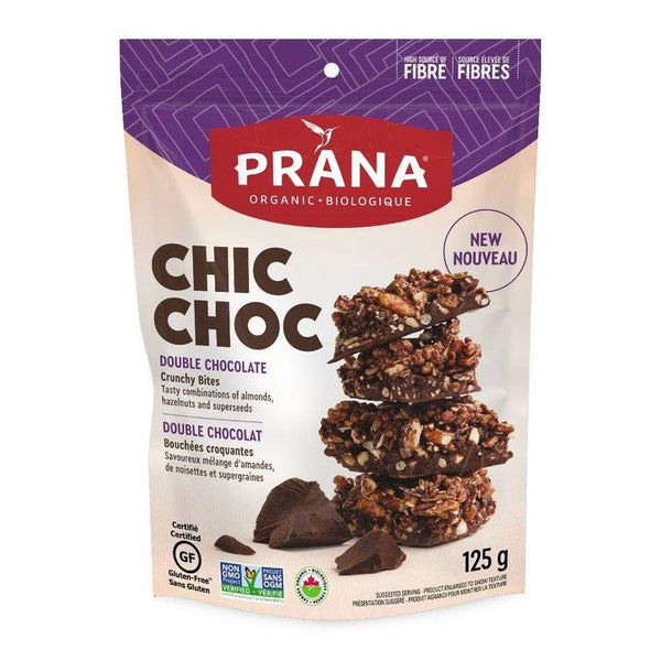 Prana, Chic Choc Double Chocolate Crunchy Bites (125g)