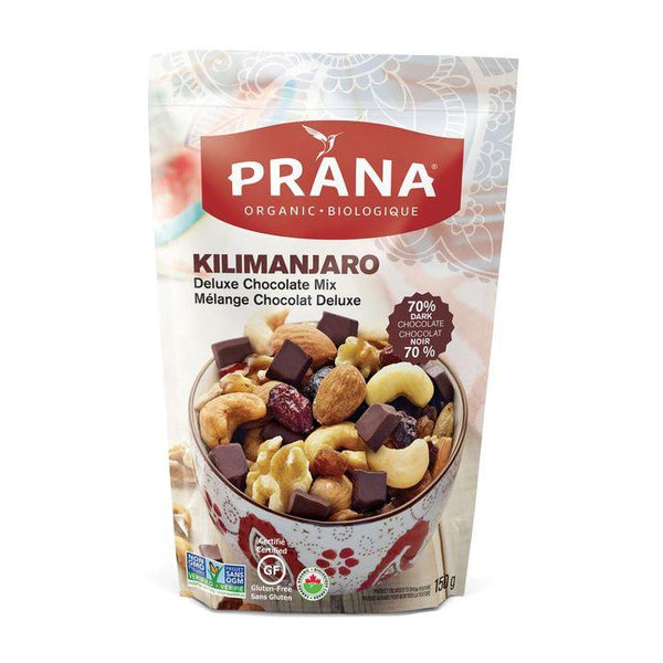 Prana, Deluxe Chocolate Mix | Kilimanjaro (150g)