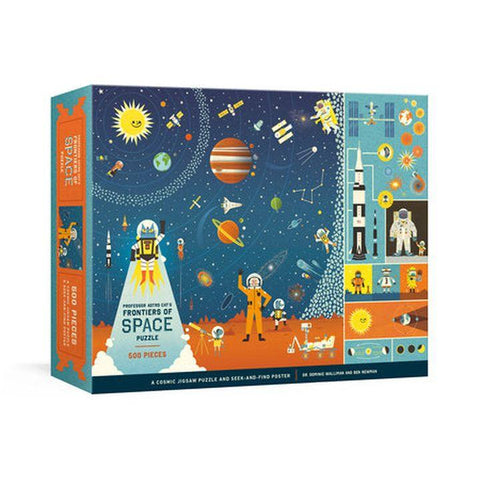 Professor Astro Cat's Frontiers of Space Jigsaw Puzzle | 500 Pieces