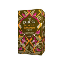 Pukka, Organic Licorice & Cinnamon Tea, 20 Tea Sachets (40g)