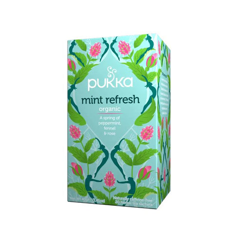 Pukka, Organic Mint Refresh Tea, 20 Tea Sachets (32g)
