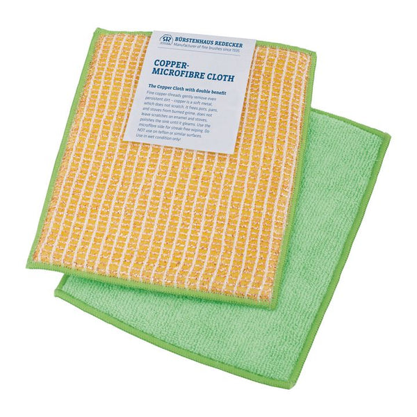 Redecker, Copper/Microfibre Cloth (16 x 19.5cm)