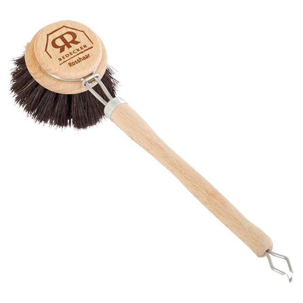 Redecker, Soft Horsehair Dish Brush (with Handle)