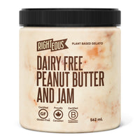 Righteous, Dairy Free Peanut Butter Jam Gelato (562mL)
