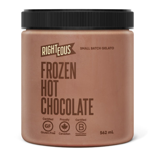 Righteous, Hot Chocolate Gelato (562mL)