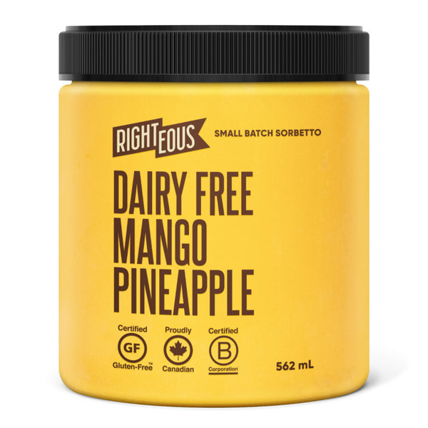 Righteous, Mango Pineapple Sorbetto (562mL)