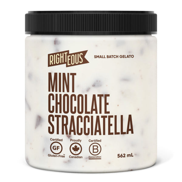 Righteous, Mint Stracciatella Gelato (562mL)
