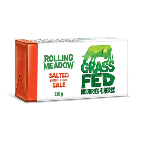 Rolling Meadow, Grass Fed Salted Butter (250g)