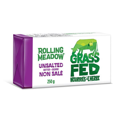 Rolling Meadow, Grass Fed Unsalted Butter (250g)