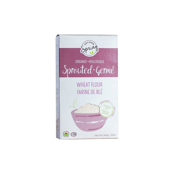 Second Spring, Organic Sprouted Wheat Flour (500g)
