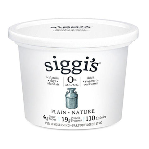 siggi's, Icelandic 0% Non-Fat Skyr Yogurt | Plain (500g)
