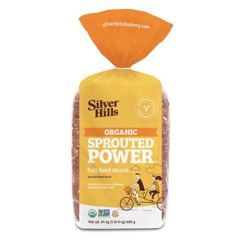 Silver Hills, Full Seed Ahead Sprouted Power Bread (680g)