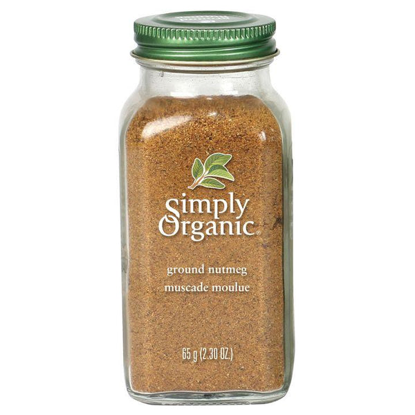 Simply Organic, Ground Nutmeg (65g)