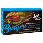 Sol Cuisine, Extreme Griller Plant Based Burger (4 Patties/Box | 284g)