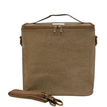 SoYoung, Olive Paper Lunch Poche / Bag