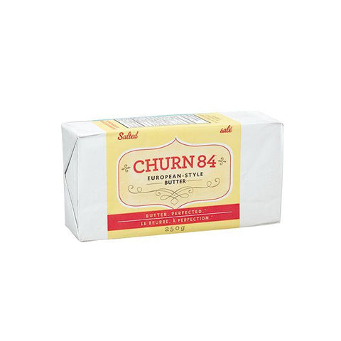 Stirling Creamery, Churn 84 European-Style Butter | Salted (250g)