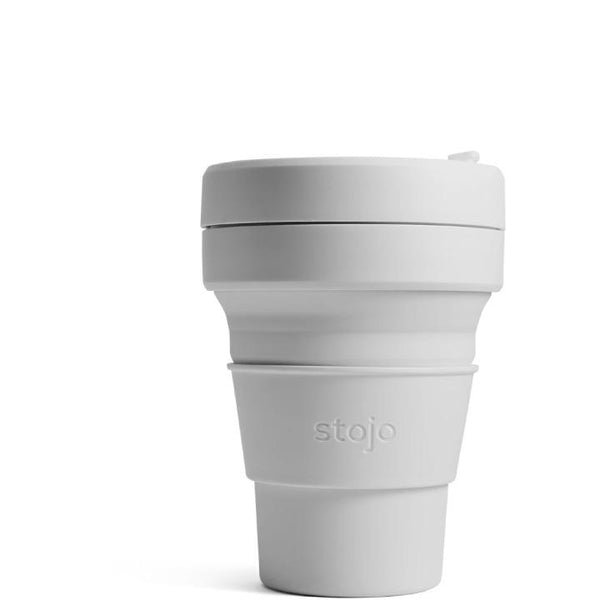 Stojo, Collapsible Pocket Cup | Cashmere Grey (12 oz)