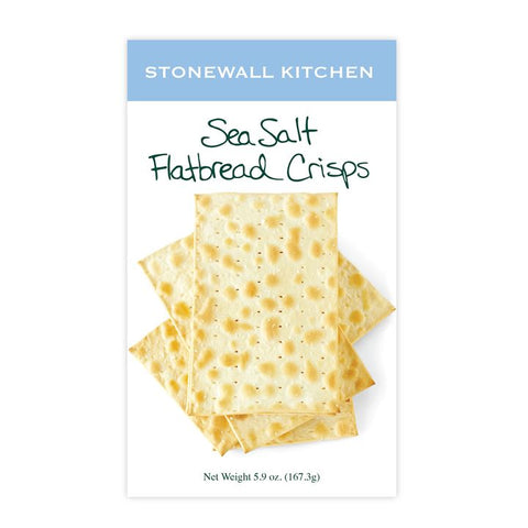 Stonewall Kitchen, Sea Salt Flatbread Crisps (167.3g)